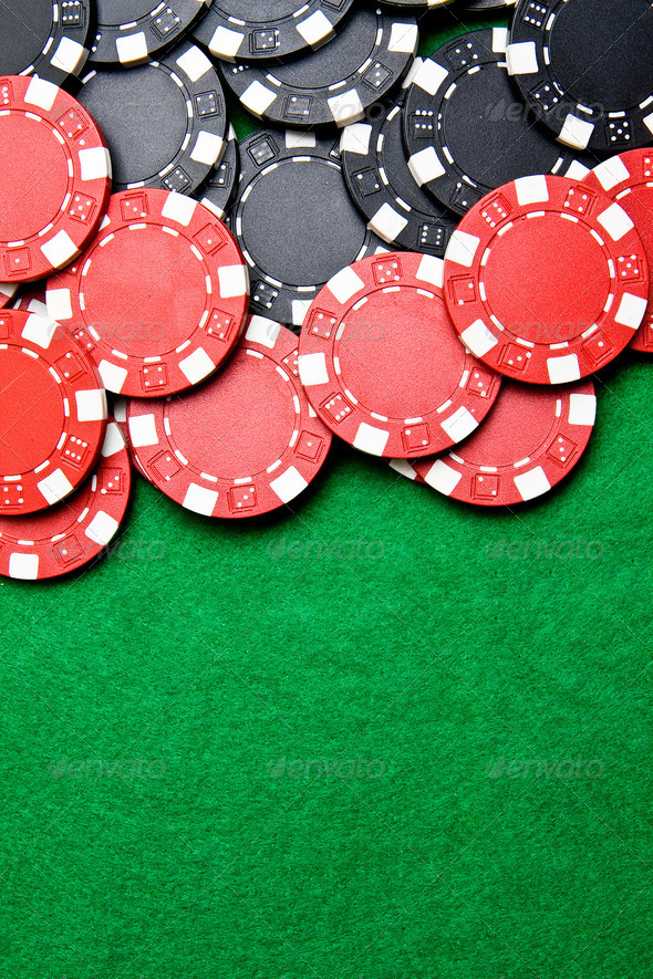 Gambling chips - Stock Photo - Images