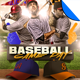Baseball Game Day Flyer Templates