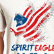 Spirit Eagle T Shirt Graphic