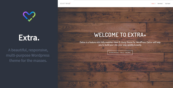 Extra - Multipurpose Responsive WordPress Theme