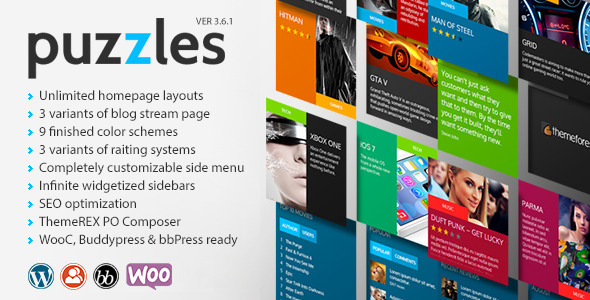 Puzzles | WP Magazine / Review with Store WordPress Theme + RTL - Blog / Magazine WordPress