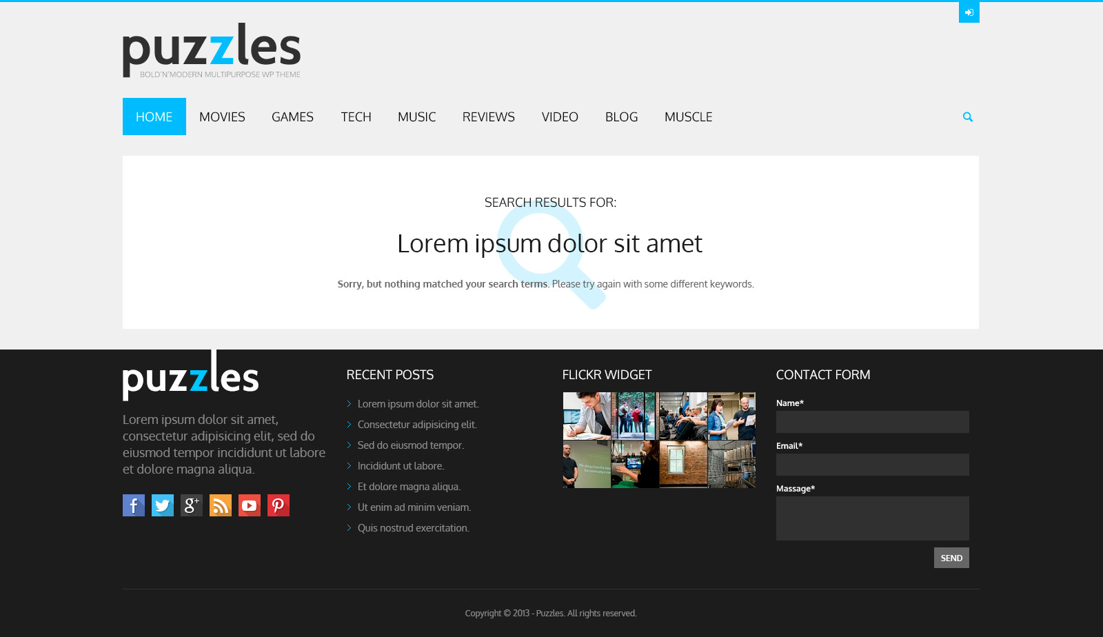 Puzzles | WP Magazine / Review with Store WordPress Theme + RTL