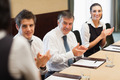 Business people clapping after a presentation in conference room - PhotoDune Item for Sale