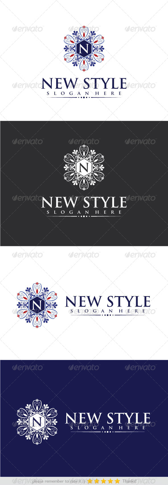 New Style - Crests Logo Templates
