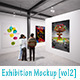 Exhibition Mockup [vol2] - GraphicRiver Item for Sale