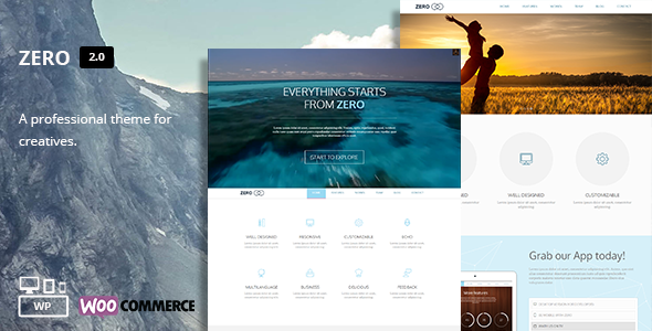 Zero – Multi-Purpose WordPress Theme