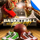 Basketball Game Day Flyer Templates