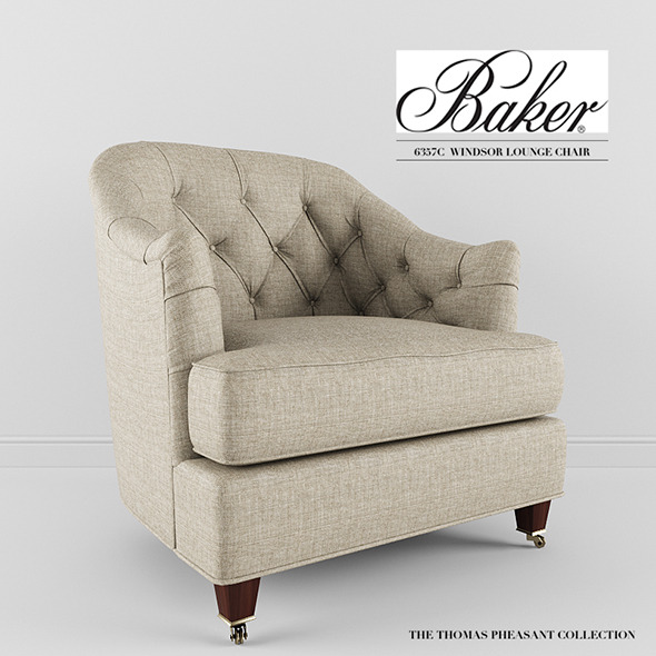 Baker Furniture - Windsor Lounge Chair - 3DOcean Item for Sale