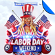Labor Day Weekend Flyer Template - GraphicRiver Item for Sale