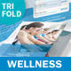 Wellness Center Trifold Brochure - GraphicRiver Item for Sale