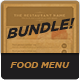 Food Menu Bundle 4 - GraphicRiver Item for Sale