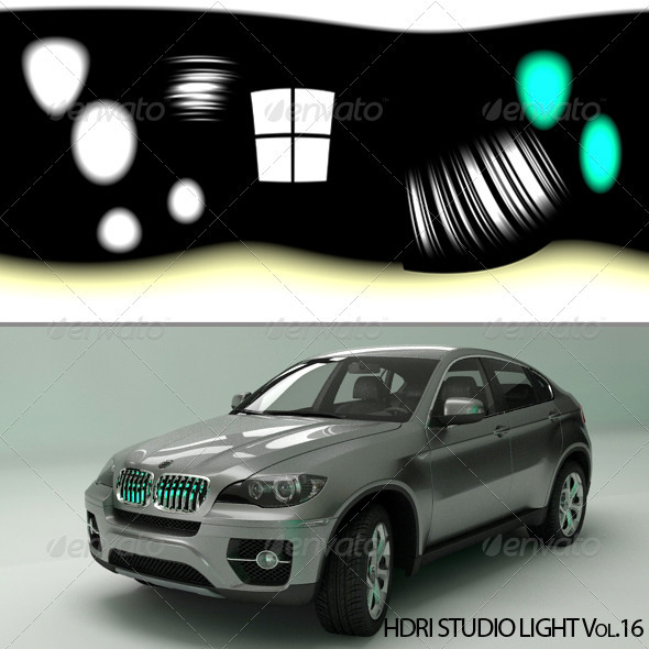 HDRI_Light_16 - 3DOcean Item for Sale