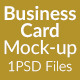Business Card Mock-Up SS-13 - GraphicRiver Item for Sale