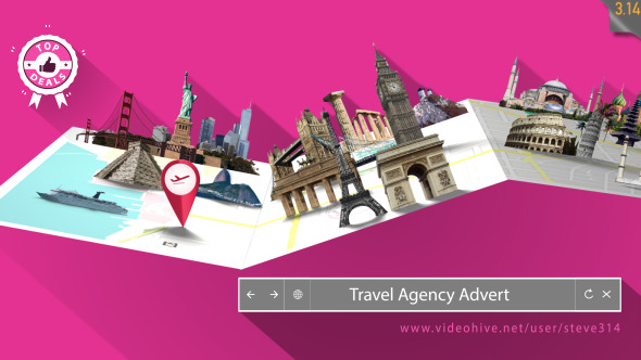 Travel Agency Advert By Steve314