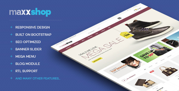 Lexus MaxxShop Responsive Opencart Theme - Shopping OpenCart