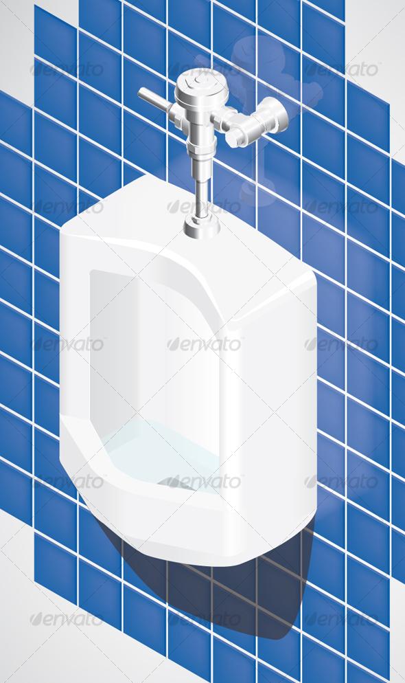 Urinal - Characters Vectors