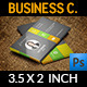 Corporate Business Card Vol.44 - GraphicRiver Item for Sale