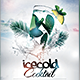 Icecold Cocktail Flyer - GraphicRiver Item for Sale