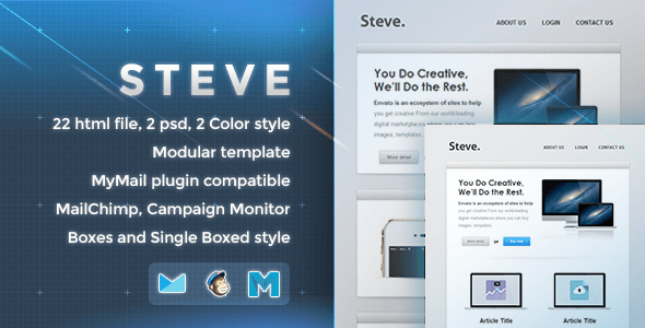 Steve – Responsive Email Template