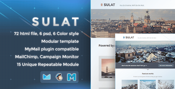 Sulat – Responsive Email Template