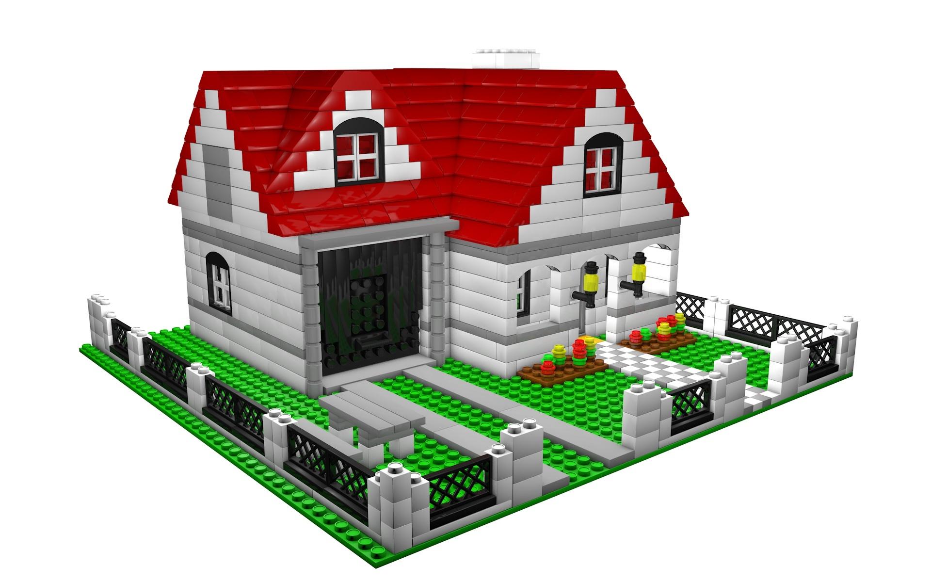 Lego house by Vladim00719 | 3DOcean