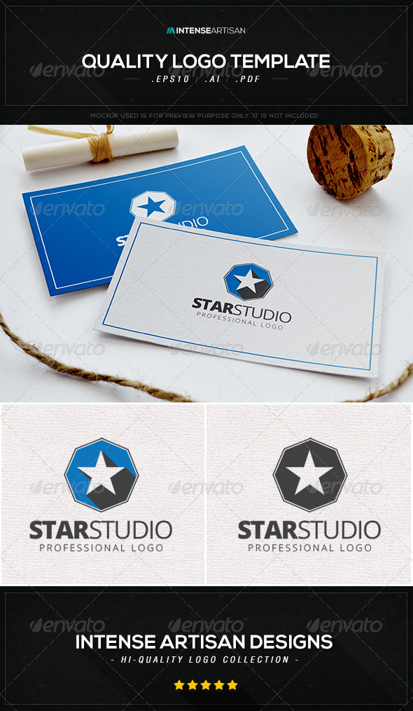 Star Studio Logo Template