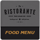 The Ristorante Food Menu - GraphicRiver Item for Sale