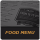 Elegant Food Menu 2 - GraphicRiver Item for Sale