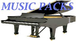 Popular Classical Piano MUSIC PACKS