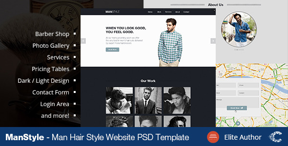 Men's Hair Salon - Beauty