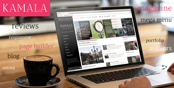 Kamala – Multi-purpose / Magazine / Review Theme