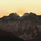 Sunrise The sun rises behind the mountains Timelapse - VideoHive Item for Sale