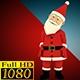 Santa Claus Comic Run Going - VideoHive Item for Sale