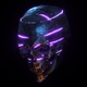 Ai Neon Skull Lights - VideoHive Item for Sale