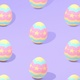 Purple Easter Egg Pattern Background - VideoHive Item for Sale