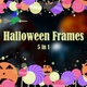 Halloween Frames - 5 In 1 - VideoHive Item for Sale