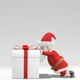 Santa And Gift - VideoHive Item for Sale