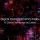 Digital Data Elements Pack - VideoHive Item for Sale