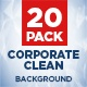 20 PACK Corporate Clean Background (Loop) - VideoHive Item for Sale