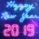 New Year Countdown 2019   Neon V1 - VideoHive Item for Sale