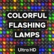 Colorful Flashing Lamps - VideoHive Item for Sale