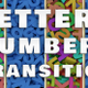 Letters Numbers Transition - VideoHive Item for Sale