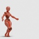 Bot Woman with Dancing Hiphop 02 - VideoHive Item for Sale