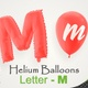 Balloons With Letter – M - VideoHive Item for Sale