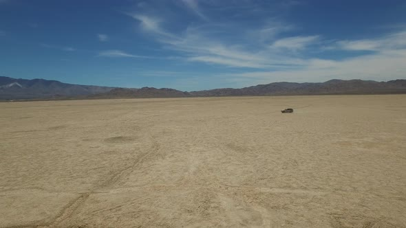 Car on the Desert