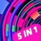 Circle Elements Vj Pack V.01 - VideoHive Item for Sale