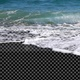 Beach Waves with Transparent Land - V1 - VideoHive Item for Sale