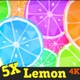 Cartoon Lemon & Lime Background Pack - VideoHive Item for Sale