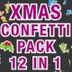 Transition Confetti Pack 12 In 1 - VideoHive Item for Sale