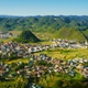4K Panoramic View of Tam Son Town of the Ha Giang Province in Vietnam - VideoHive Item for Sale